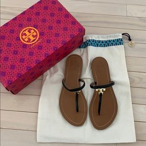 Tory Burch Black Sandal !